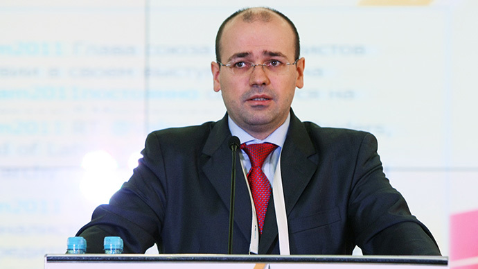 Konstantin Simonov, director general of the National Energy Security Foundation (RIA Novosti / Alexandr Kryazhev)