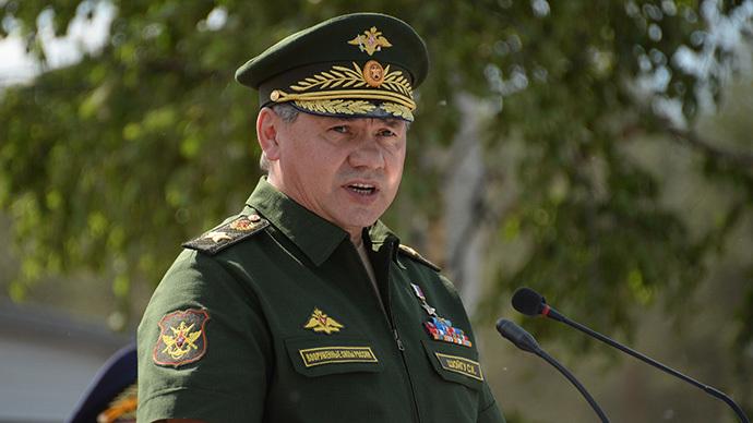 Russian Defense Minister Sergei Shoigu (RIA Novosti / Artem Zhitenev)