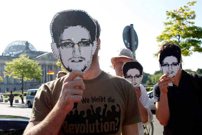 Why is Snowden in Russia? 'Ask the State Department,' he says