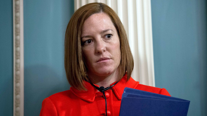 US State Department spokesperson Jen Psaki (AFP Photo/Nicholas Kamm)