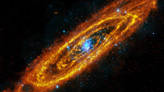 The Andromeda spiral galaxy. (Reuters/NASA)