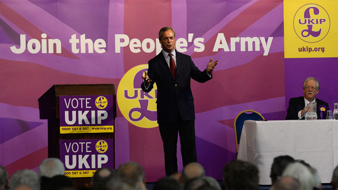 Anti-EU voters to back UKIP again in Britain's 2015 general election - poll
