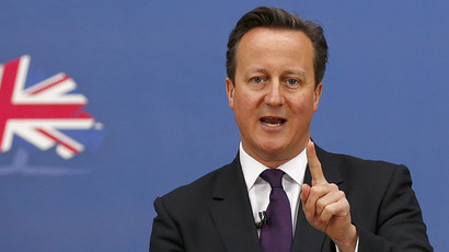 Britain's Prime Minister David Cameron (Reuters/Darren Staples)
