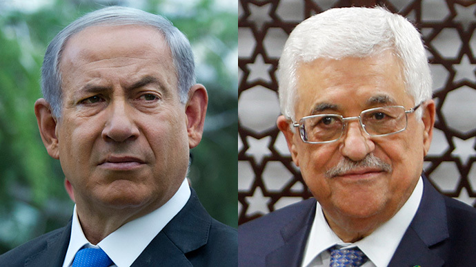 (L-R) Israeli Prime Minister Benjamin Netanyahu (AFP Photo / Pool / Jim Hollander) and  Palestinian president Mahmud Abbas (AFP Photo / Abbas Momani)
