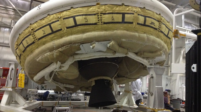 'Bad chute' sours NASA 'flying saucer' test launch (VIDEO)