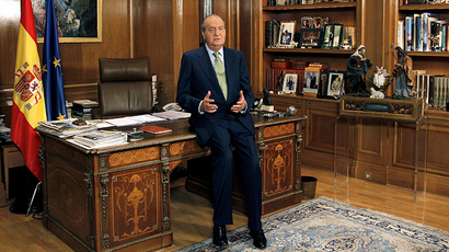 Spain's King Juan Carlos (AFP Photo)