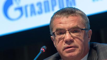 Deputy Gazprom Board Chairman and Gazprom Export General Director Alexander Medvedev.(RIA Novosti / Ramil Sitdikov)