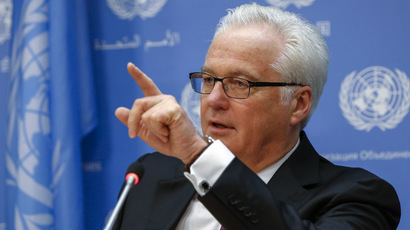 Russia's United Nations Ambassador Vitaly Churkin (Reuters/Lucas Jackson)