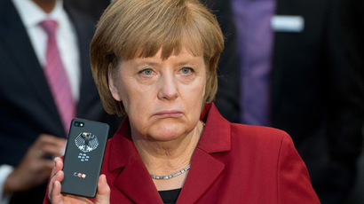 German Chancellor Angela Merkel (AFP/DPA)