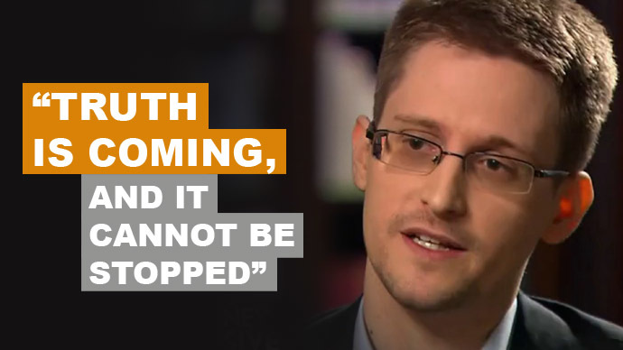 From 'Truth is coming' to 'Merkel Effect': Top 13 Snowden quotes on NSA