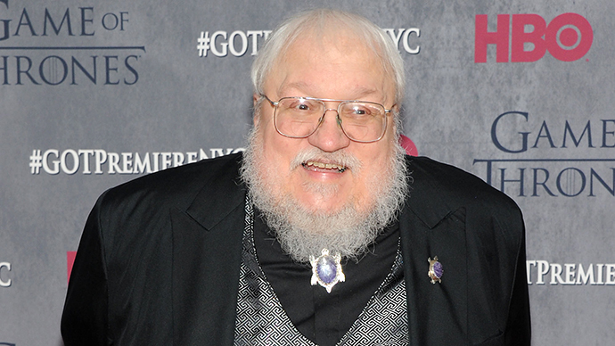 Author George R.R. Martin (AFP Photo / Getty Images / Jamie McCarthy)