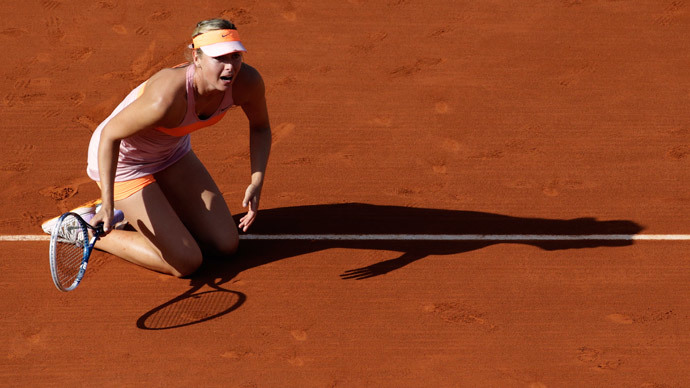 Maria Sharapova.(AFP Photo / Kenzo Tribouillard)