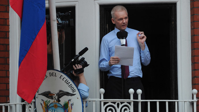 Wikileaks founder Julian Assange.( AFP Photo /Carl Court)