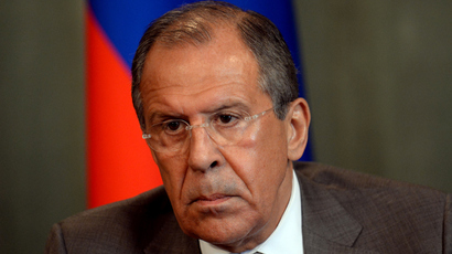 Russian Foreign Minister Sergei Lavrov (AFP Photo / Vasily Maximov)