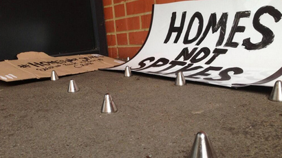 London Mayor Johnson calls for 'ugly, stupid anti-homeless' spikes to be removed