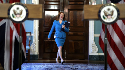 U.S. State Department spokeswoman Jen Psaki (AFP Photo / Alex Wong)