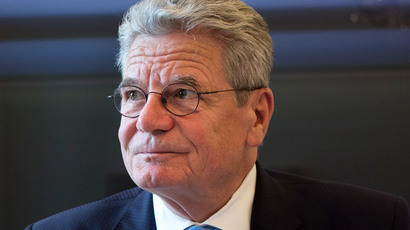 German President Joachim Gauck.(AFP Photo / David Gannon)