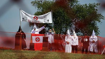Fundraiser for killer Ferguson cop triggers rift within KKK
