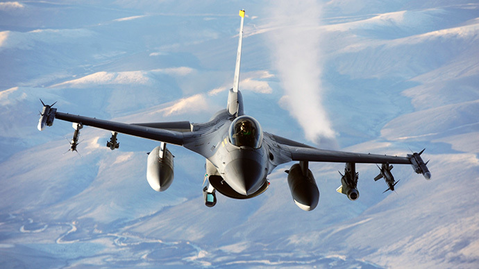 F-16 Fighting Falcon aircraft (AFP Photo / DOD / US Air Force / JonathanSynder)