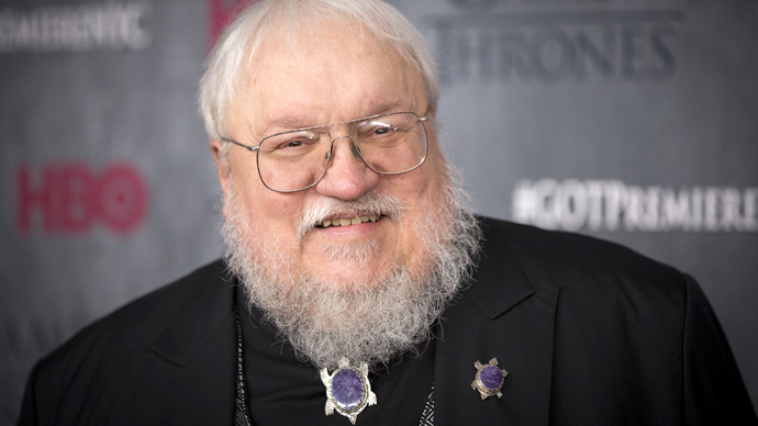 Author and co-executive producer George R.R. Martin (Reuters/Lucas Jackson)