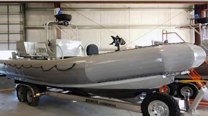 One of the patrol boats purchased. (Courtesy of the Office of the Special Inspector General for Afghanistan Reconstruction)