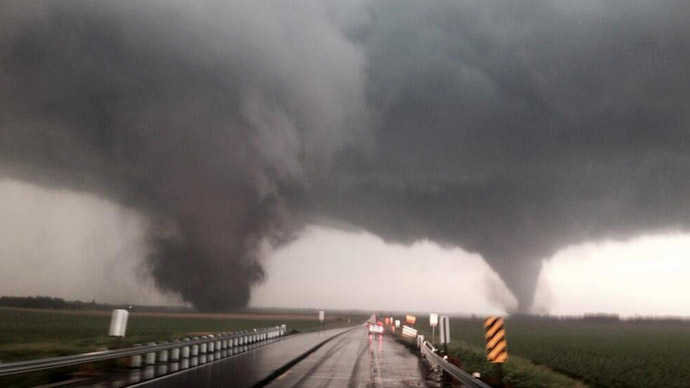 Rare double tornado rip through Nebraska: 5-yo dead, 19 injured (PHOTOS, VIDEO)