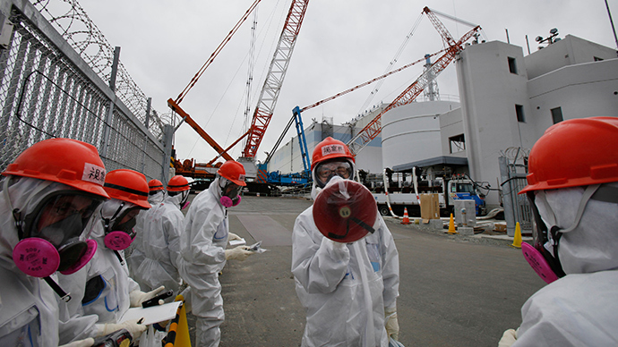 No. 1 reactor building at the Tokyo Electric Power Co's (TEPCO) tsunami-crippled Fukushima Daiichi nuclear power plant in Fukushima prefecture (Reuters / Koji Sasahara)
