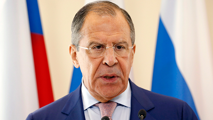 Russian Foreign Minister Sergey Lavrov (Reuters / Vasily Fedosenko)
