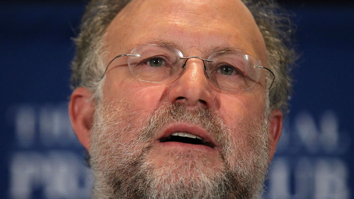Co-founder of Ben and Jerrya`s Homemade Inc. Jerry Greenfield (Alex Wong / Getty Images / AFP)