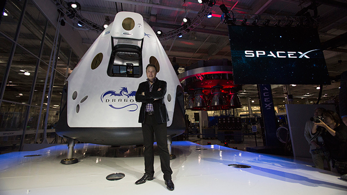 Elon Musk plans to take people to Mars within 10 years ...