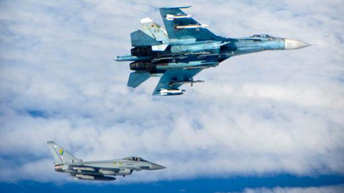 UK scrambles jets to intercept Russian planes in intl airspace over Baltic