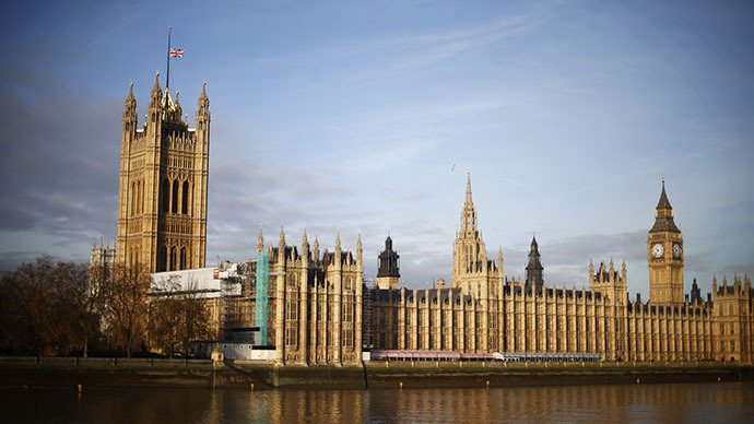 UK parliament evacuated after suspicious package found