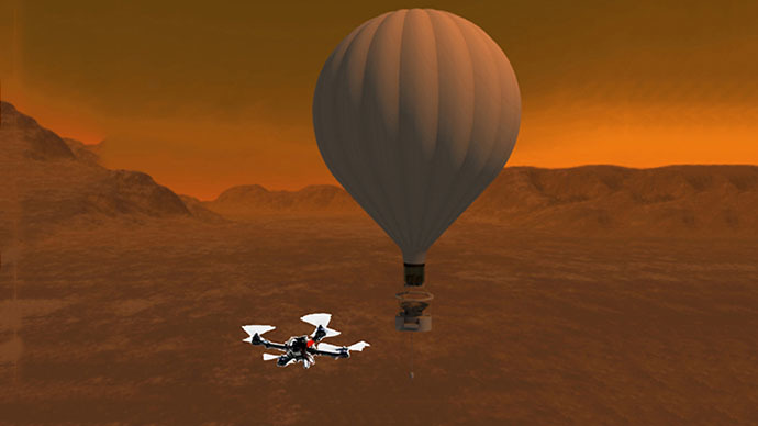 NASA considers sending quadcopter drone to look for life on Titan