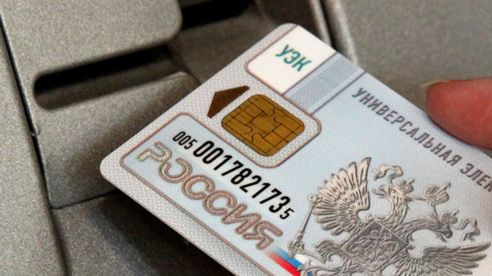 Russia develops its own chip technology for national payment card