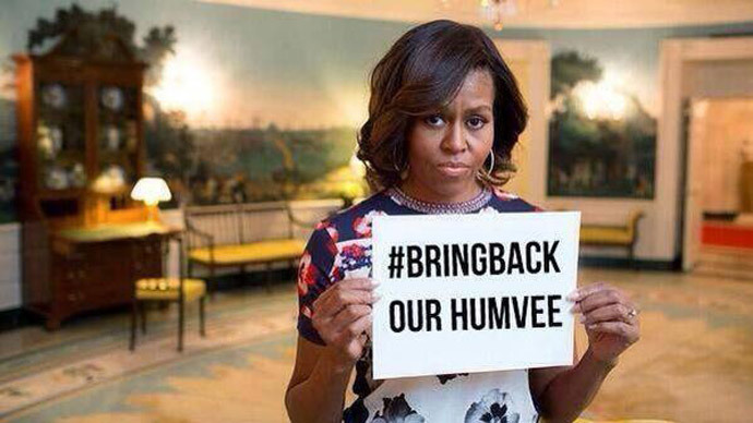 ISIS mocks Michelle Obama on Twitter, boasts of Iraq victory