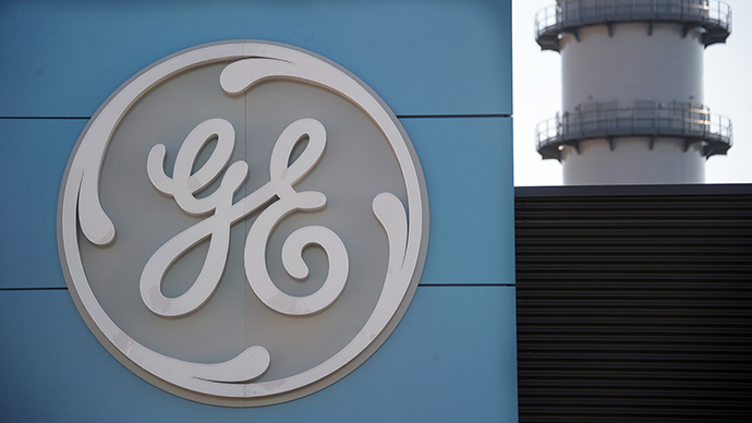 The logo of US giant General Electric (AFP Photo / Sebastien Bozon)