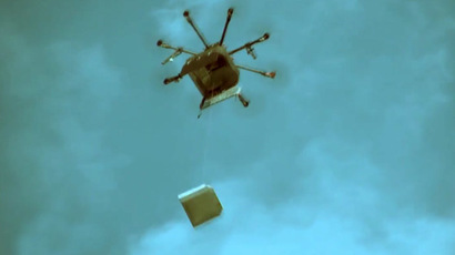 Russian pizzeria may be fined for drone delivery over 'airspace breach'