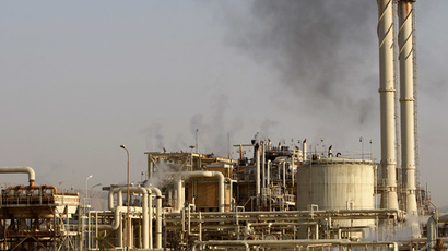 A view of Baiji oil refinery, 180km (112 miles) north of Baghdad (Reuters/Thaier al-Sudani)