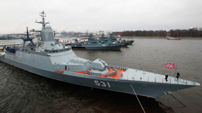 Russian stealth corvette put British Navy on alert off Danish coast - media