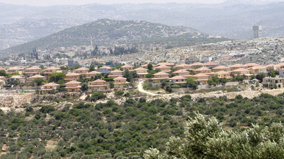 Jewish settlement of Brukhim located near the West Bank village of Kufr al-Deek near Salfit (Reuters/Abed Omar Qusini)