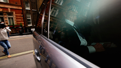 Media mogul Rupert Murdoch arrives at his home in London June 26, 2014 (Reuters / Luke MacGregor)