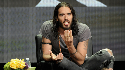British actor and comedian Russell Brand (Reuters / Gus Ruelas)