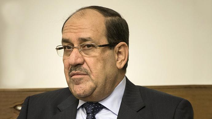 Iraqi Prime Minister Nuri al-Maliki (AFP Photo / Brendan Smialowski)