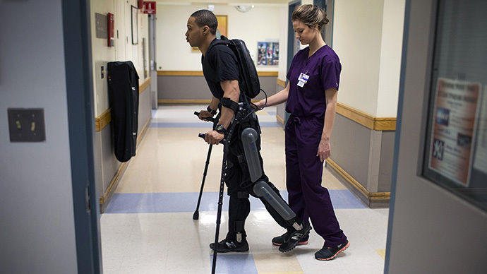FDA approves robotic exoskeleton to help paraplegics walk again