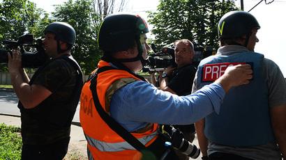 Last word 'camera'! Russian journalist killed in E. Ukraine working till dying breath