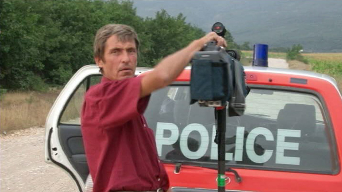 Anatoly Klyan, Russian cameraman from Channel One TV