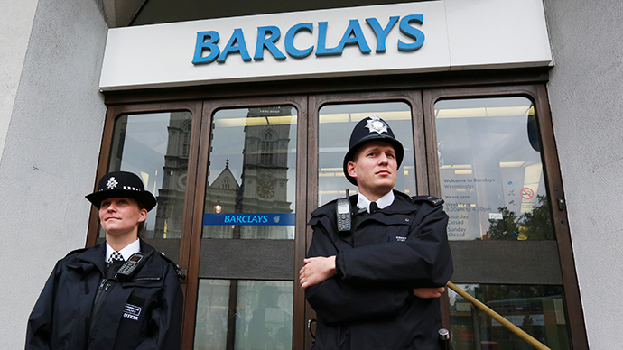 Barclays stank: 'Angry' man defecates in bank, departs 'smug'