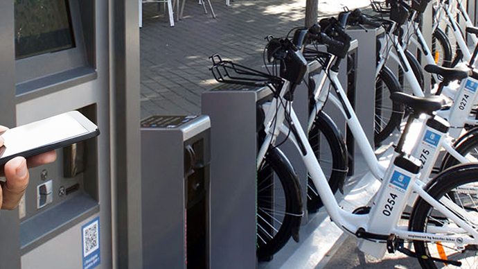 Porn shock for Madrid's new electric bike hire system