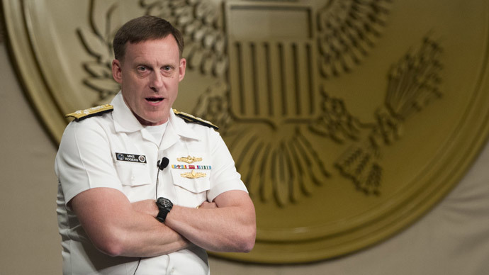 Admiral Michael Rogers.(AFP Photo / Saul Loeb)