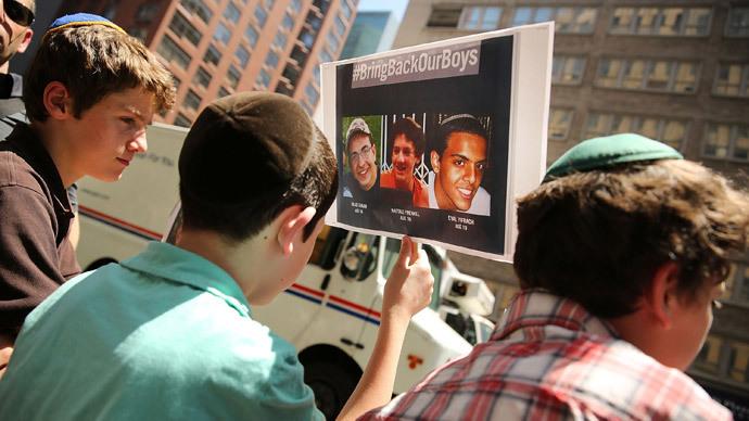 Bodies of 3 missing Israeli teens found in West Bank